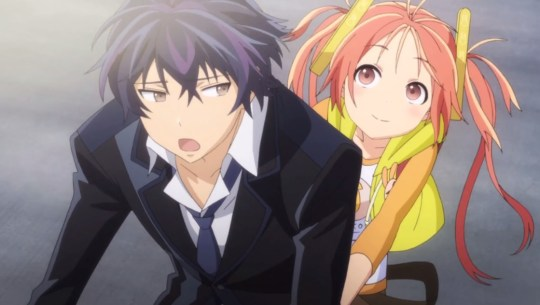 Black Bullet Rentarou and Enju