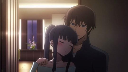 mahouka koukou no rettousei episode 1 shiba Tatsuya miyuki
