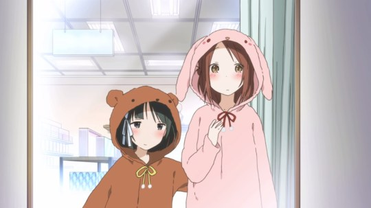 Fujimiya Kaori Saki pajamas isshuukan friends