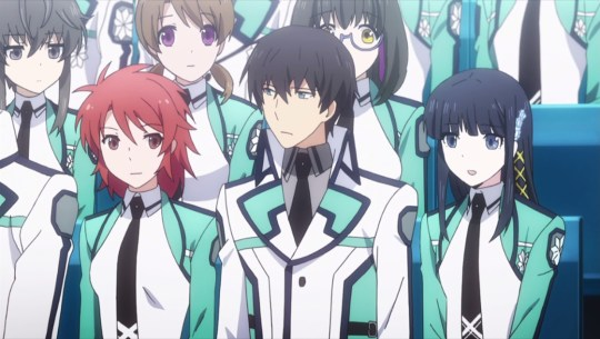 Mahouka koukou no rettousei episode 11 competition