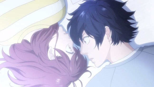 Ao Haru Ride episode 4 review Futaba x Kou