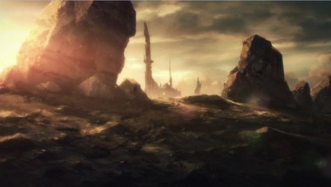 SAO II episode 2 impressions GGO terrain