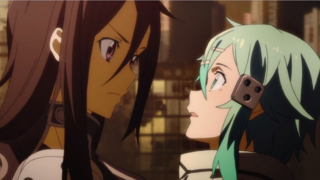 Sword Art Online II episode 6 review Kirito x Sinon