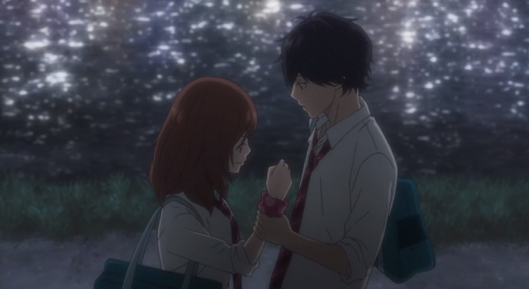 Summer 2014 Anime Week 11 Ao Haru Ride Futaba x Kou