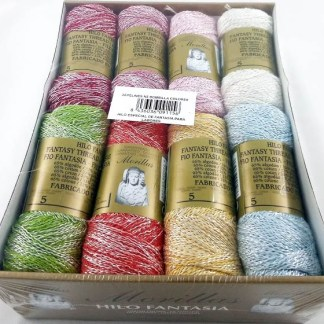 Caja 16 zepelines N5 bombilla colores claros de fantasía