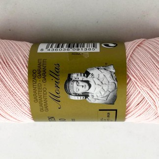 Zepelín color rosa 8 de algodón perlé 100% egipcio