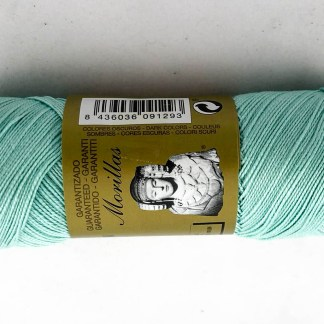 Zepelín color turquesa 39 de algodón perlé 100% egipcio