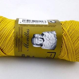Zepelín color mostaza 34 de algodón perlé 100% egipcio