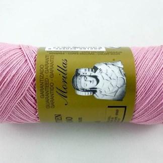 Zepelín color rosa 37 de algodón perlé 100% egipcio