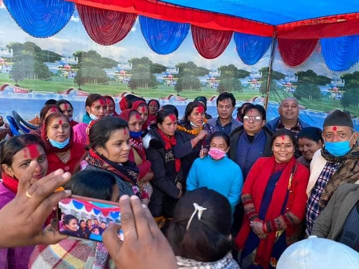नेपाल महिला संघ बिहादी गाउँपालिकाको अध्यक्षमा खड्का