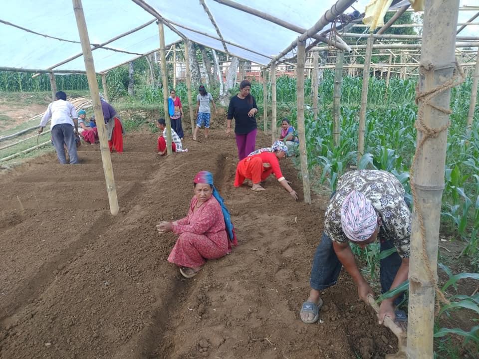 पर्वतको फलेवासमा 'टनेल हाम्रो उत्पादन तपाईको' कार्यक्रम शुरु