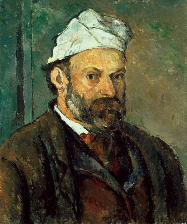 Paul Cezanne Portrait .1878-80 Gandalf'