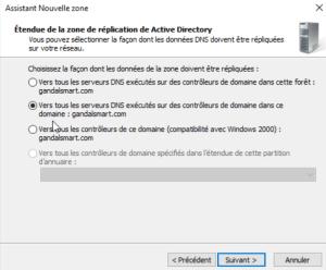 Selectionnez la deuxième option Windows server