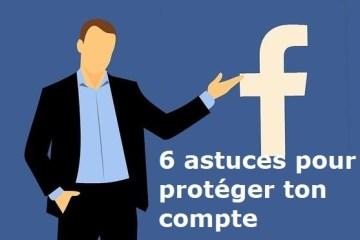 Facebook comment protéger son compte