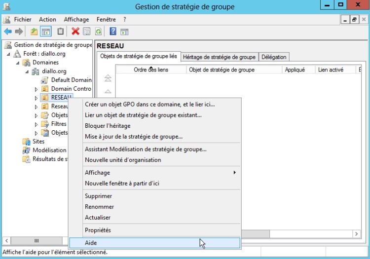 2.CREATION OBJET GPO - Comment bloquer les clés USB aux utilisateurs avec le GPO sous Windows Server 2016 ?