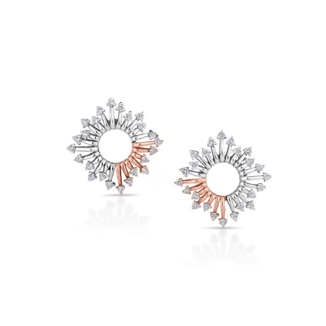 Flawless Platinum Earring For Women 20PTEOE26