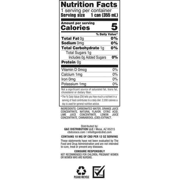 CBD Infusions Citrus NF