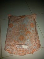 Dibungkus Plastik Batik