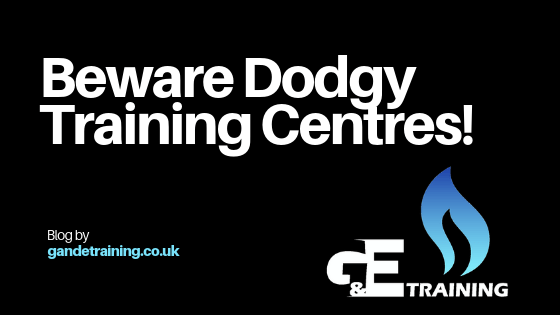 Beware Dodgy Training Centres!