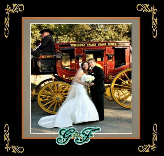 G&F Stagecoach Weddings