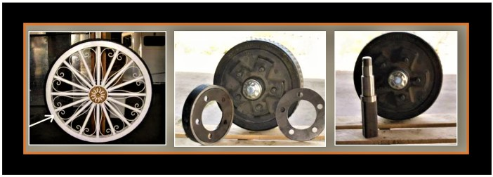 G&F Carriage Wheels