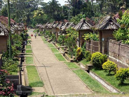 obyek wisata desa penglipuran