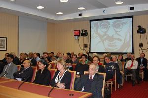 Gandhi Foundation audience