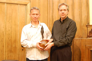 David Edwards & David Cromwell of Media Lens