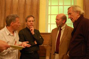 David Edwards, David Cromwell, Denis Halliday, John Pilger