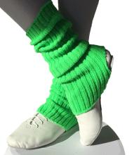 Legwarmer green