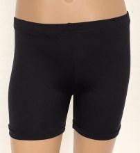 booty shorts black lycra