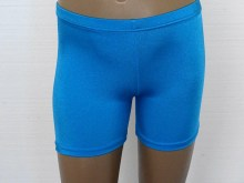 gym short kingfisher lycra