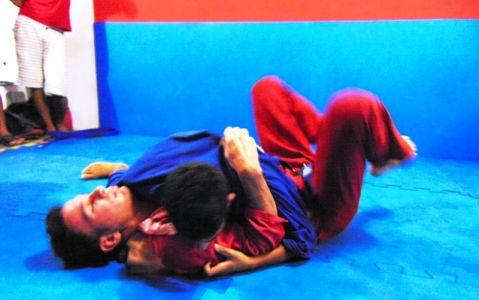 10_9 PTN: CT Jorge Monge recepciona equipe de Gandu em treino interativo de Jiu Jitsu