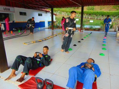 13_7 Academia de Artes Marciais em Gandu promove treinamento funcional