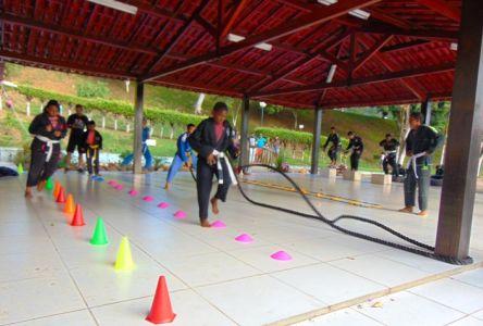 17_3 Academia de Artes Marciais em Gandu promove treinamento funcional