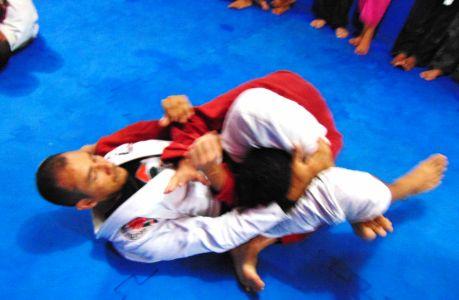 20_4 PTN: CT Jorge Monge recepciona equipe de Gandu em treino interativo de Jiu Jitsu