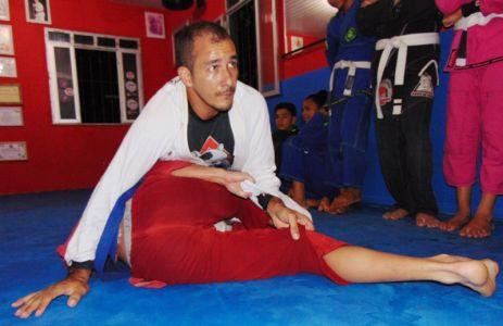 24_3 PTN: CT Jorge Monge recepciona equipe de Gandu em treino interativo de Jiu Jitsu