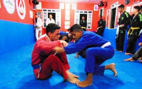 37 PTN: CT Jorge Monge recepciona equipe de Gandu em treino interativo de Jiu Jitsu