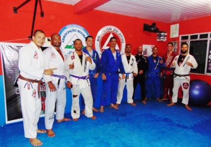 42 PTN: CT Jorge Monge recepciona equipe de Gandu em treino interativo de Jiu Jitsu
