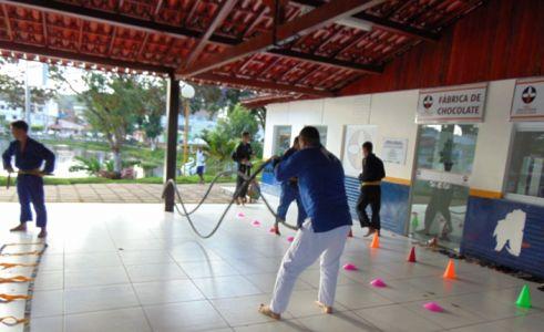 6_7 Academia de Artes Marciais em Gandu promove treinamento funcional