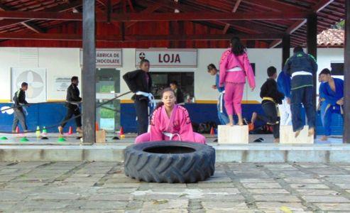 7_7 Academia de Artes Marciais em Gandu promove treinamento funcional