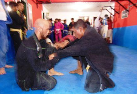 7_8 PTN: CT Jorge Monge recepciona equipe de Gandu em treino interativo de Jiu Jitsu