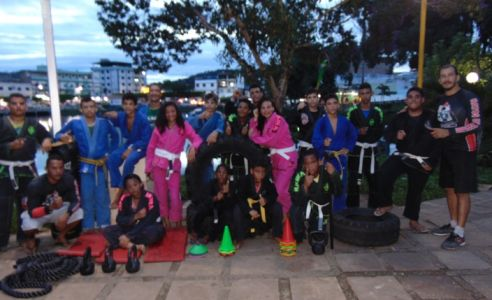 8_7 Academia de Artes Marciais em Gandu promove treinamento funcional