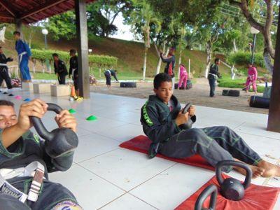 9_6 Academia de Artes Marciais em Gandu promove treinamento funcional
