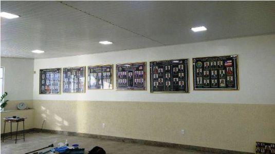 Vista Parcial Da Câmara Durante A Reforma - Reforma Do Teto