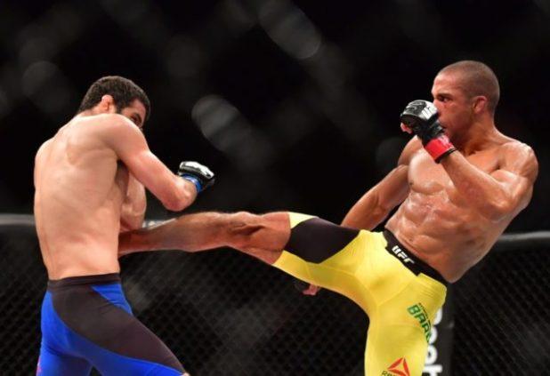 Edson-Barboza-vs.-Beneil-Dariush Edson Barboza tira joelhada da cartola e nocauteia Beneil Dariush no UFC