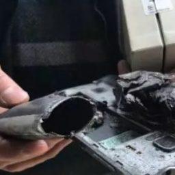 Smartphone explode e deixa criança com rosto queimado