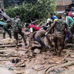 Chuvas e deslizamentos matam ao menos 102 pessoas na Colômbia