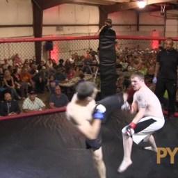 Lutador de MMA amador, policial americano aplica nocautaço em 4s