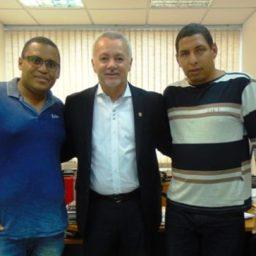 Lideranças de Gandu se reúnem com o deputado Bobô em busca de parcerias
